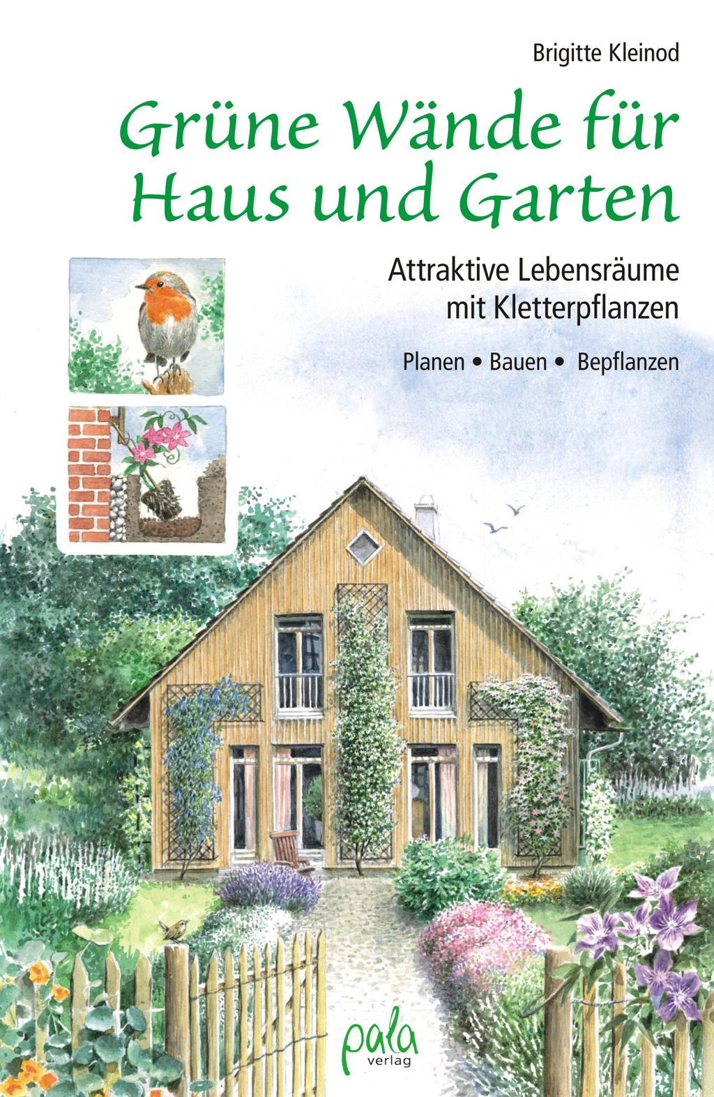 9783895663390 Grüne Wände für Haus und Garten