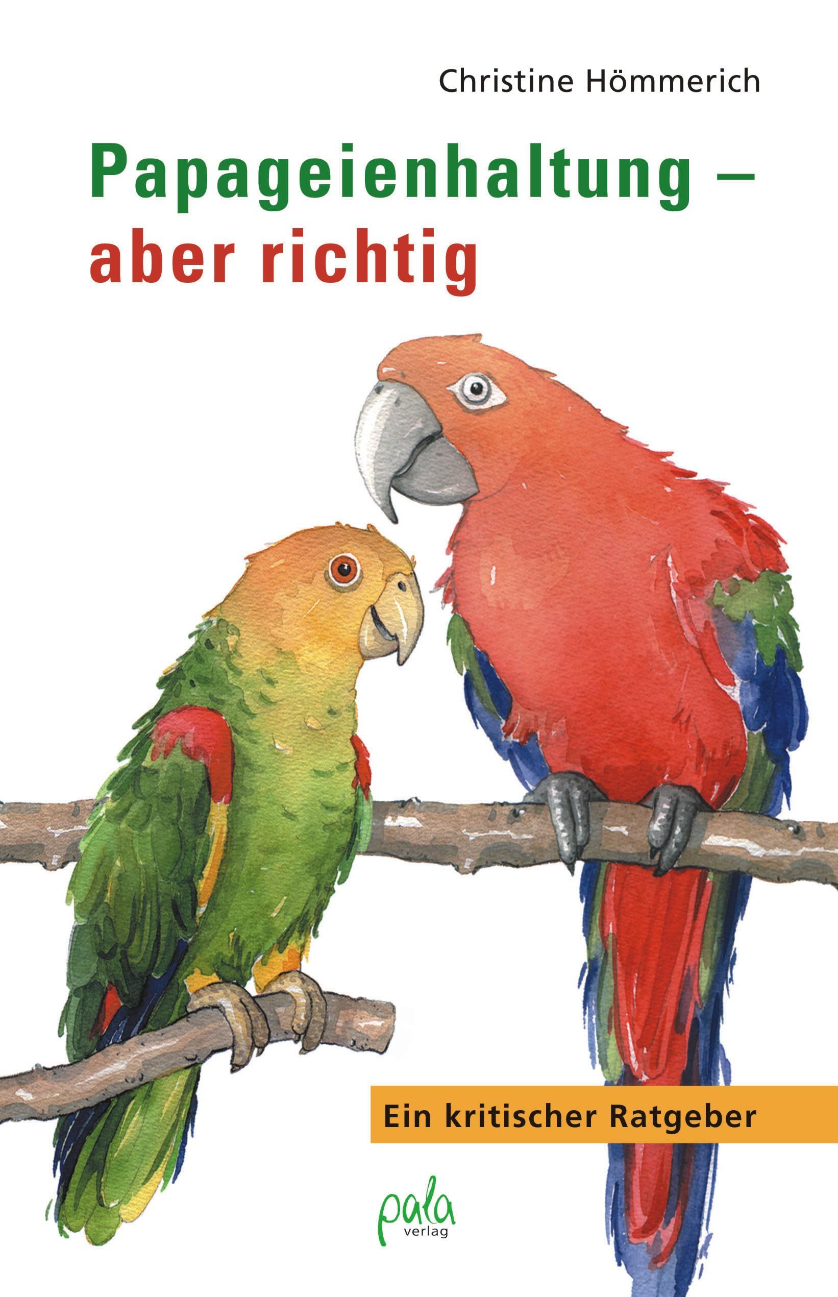 9783895662225 Papageienhaltung - aber richtig
