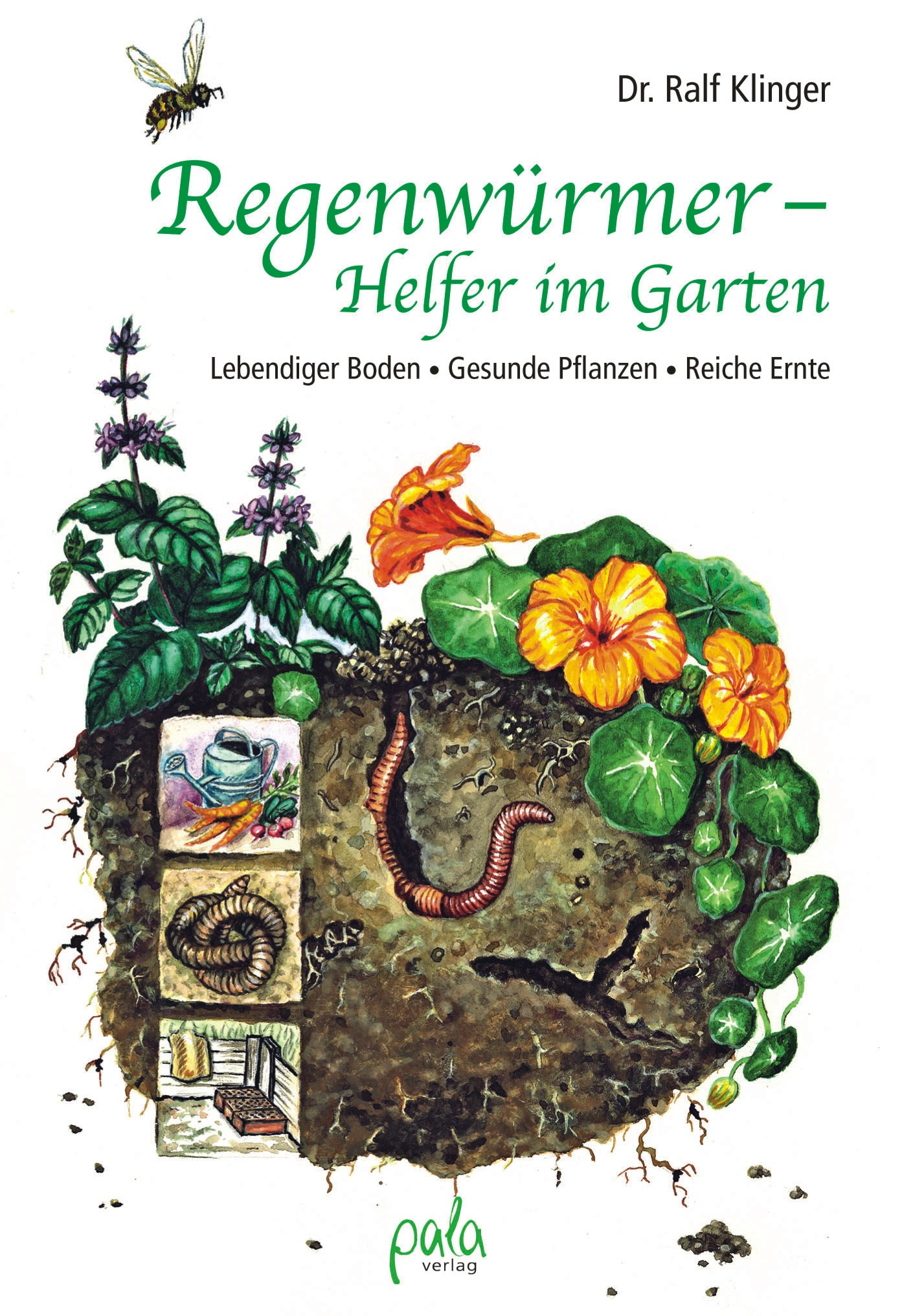 9783895662829 Regenwürmer - Helfer im Garten