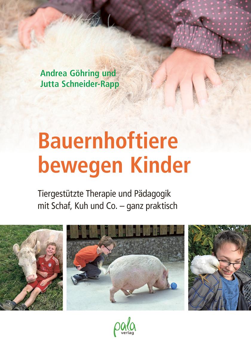 Cover: Bauernhoftiere bewegen Kinder